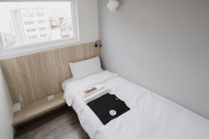 單人房住宿空間
