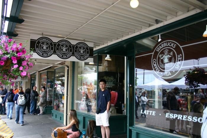 星巴克第一間創始店
