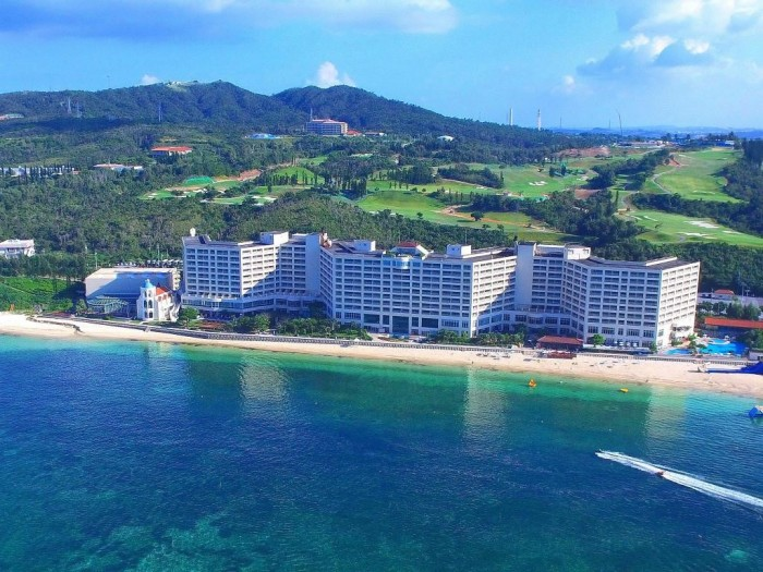 谷茶灣Rizzan海洋公園飯店