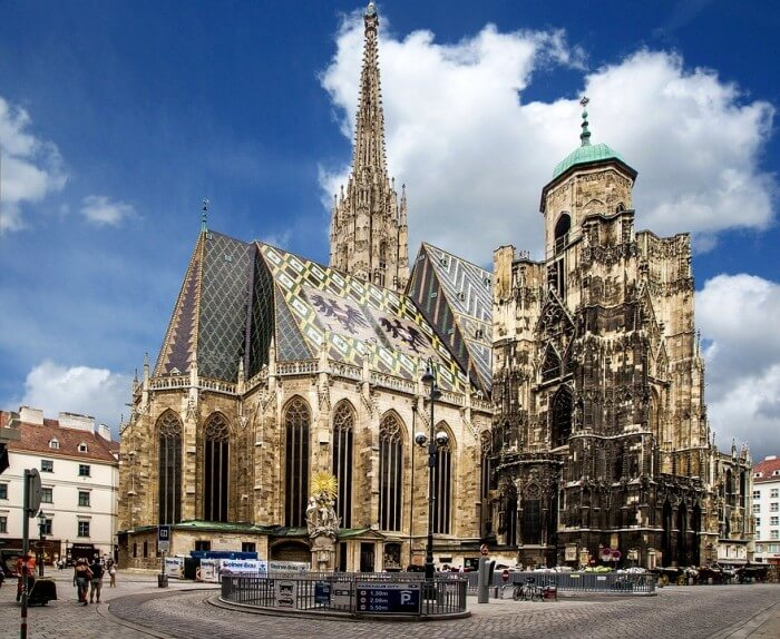 聖史蒂芬教堂Wiener Stephansdom