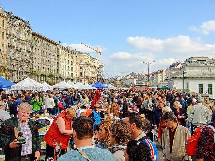 維也納中央市場Naschmarkt