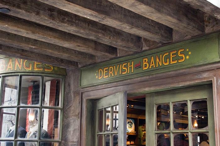 哈利波特周邊商品-德維斯和班斯樂器店(Dervish and Bange)