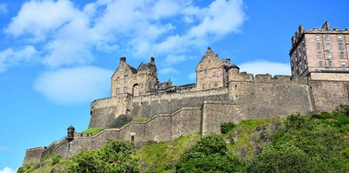 愛丁堡城堡1